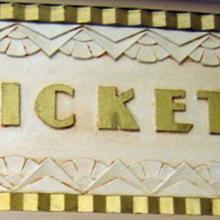 AUDITORIUM LOBBY TICKET WINDOW