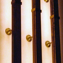 AUDITORIUM WALL LIGHTS