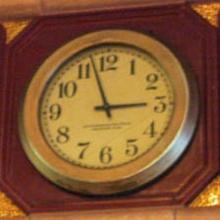MAIN HALL CLOCK