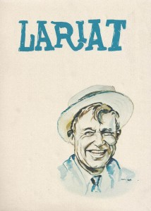 Will Rogers Lariat 1963